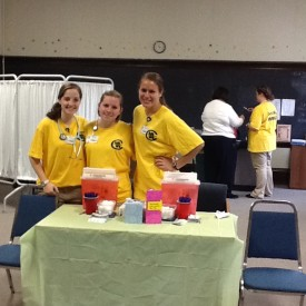 YCP Students at Jefferson Clinic 2013