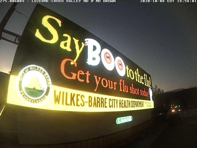 Say Boo to the Flu Billboard