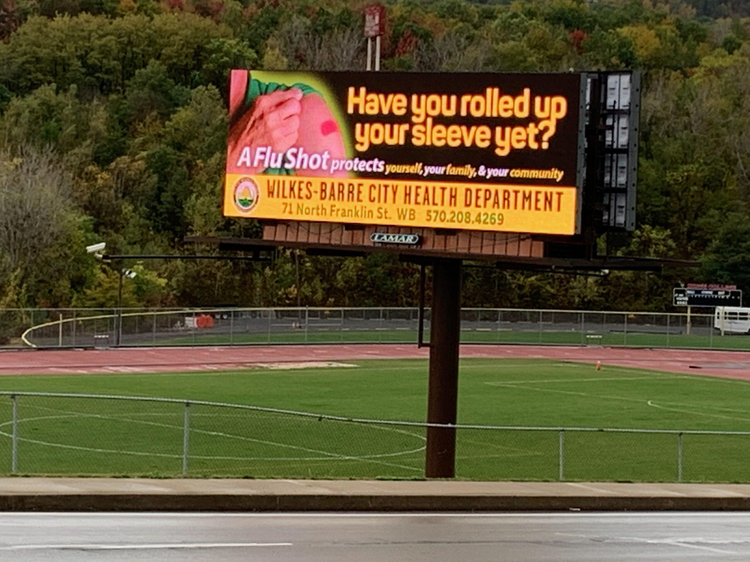 IMG_1075 flu digital billboard