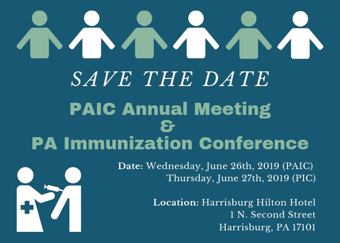 Save the Date! PAIC and PIC Annual Meeting and Conference 2019