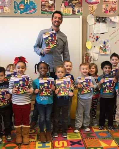 Kids at Ruppert Elementary School Learn About Victor Vaccine!