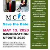 Save the Date! MCIC Educational Dinner